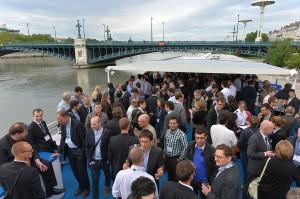 EWEA Operational Assessment Workshop dinner cruise, Lyon, France, July 2012