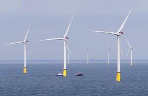 London Array - das weltgrößte OfLondon Array - the world's largest offshore wind farm